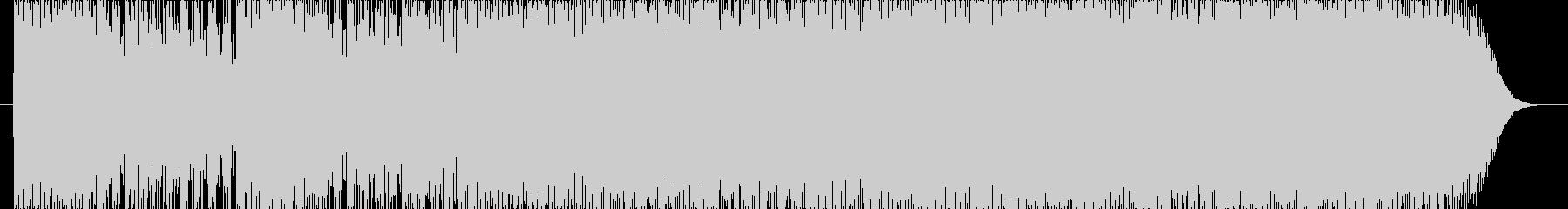 機械的な音楽の未再生の波形