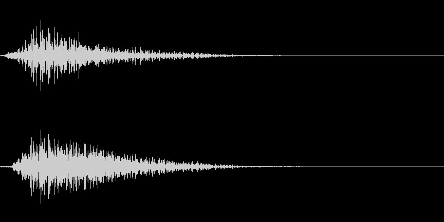 SF開閉音 9の未再生の波形