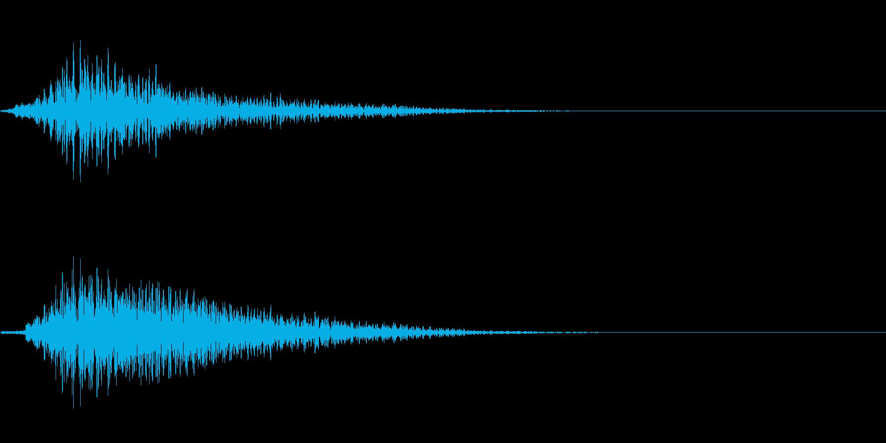 SF開閉音 9の再生済みの波形