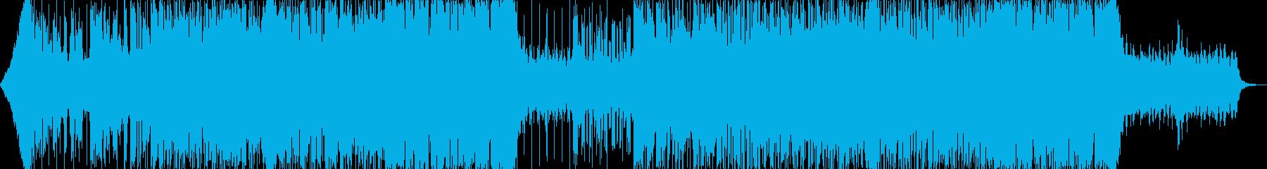 おしゃれクールカッコいいハウステクノAの再生済みの波形