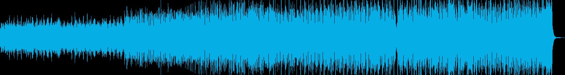 オルゴールと管弦楽・夢心地なワルツ B2の再生済みの波形