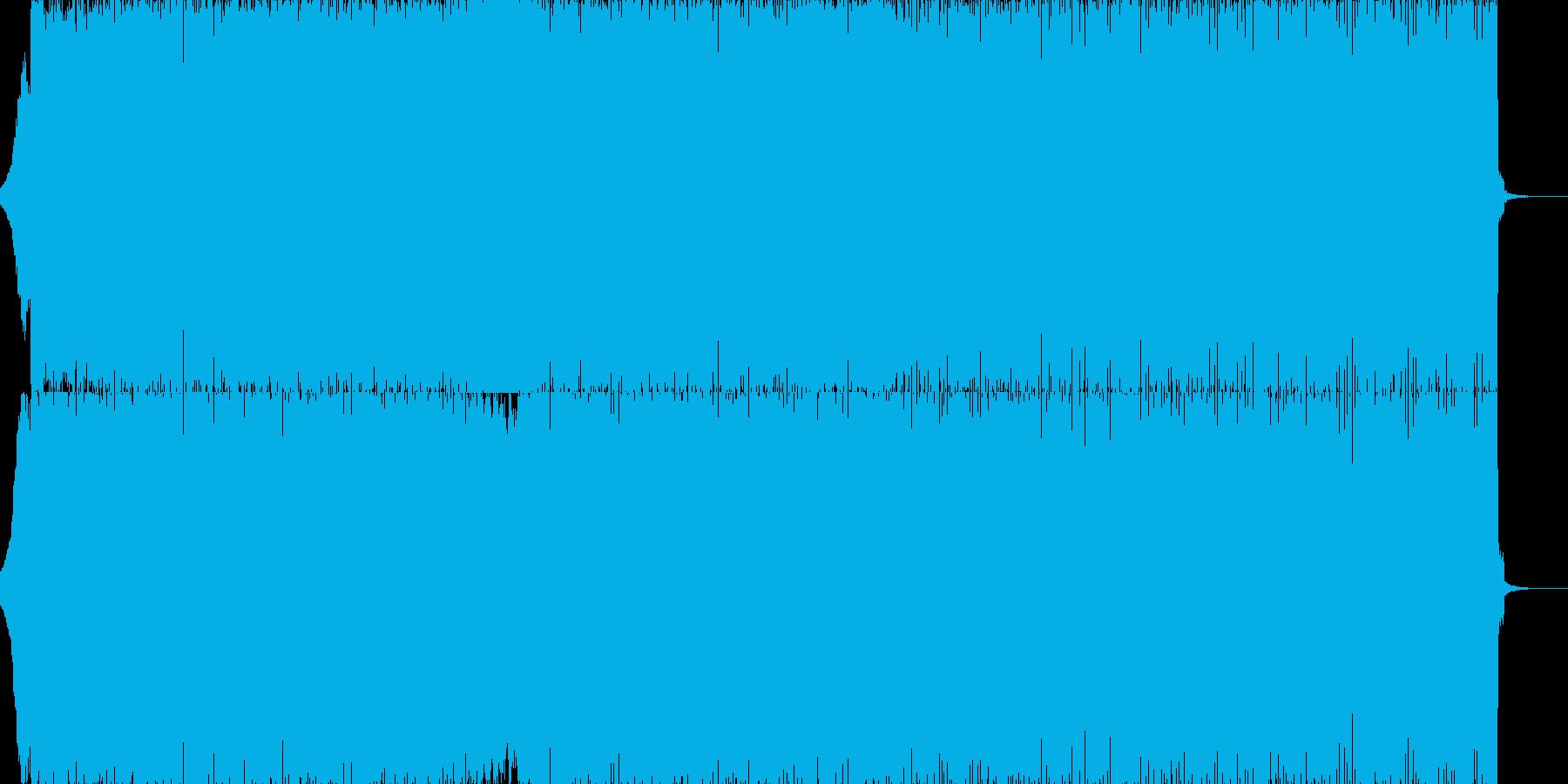エグいシンセ!テンションぶち上げのEDMの再生済みの波形