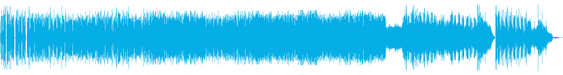 クールなおしゃれジャズファンクBGMの再生済みの波形