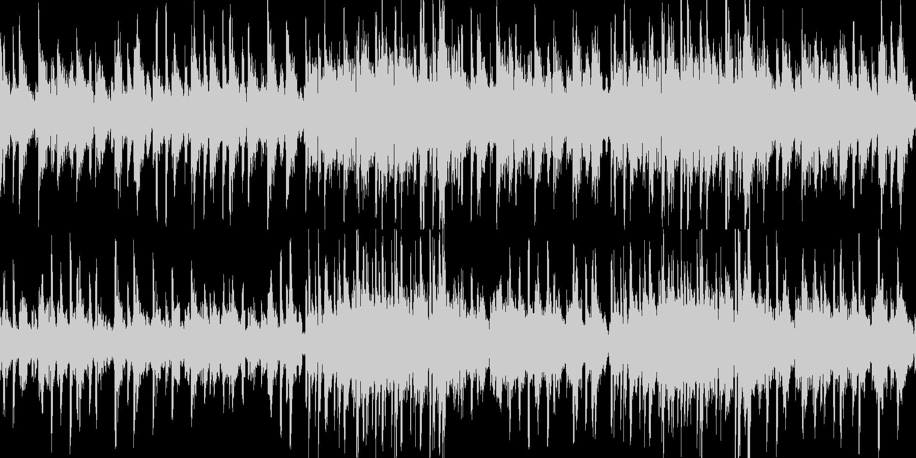 神秘的なアンビエントヒーリングループの未再生の波形