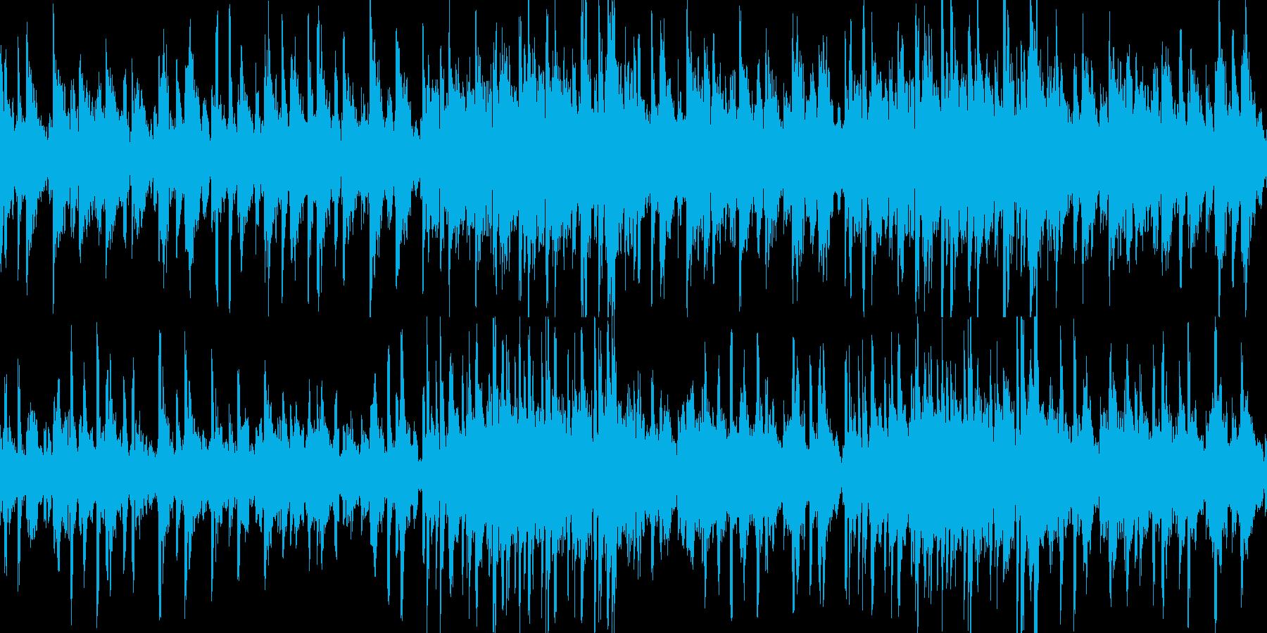 神秘的なアンビエントヒーリングループの再生済みの波形