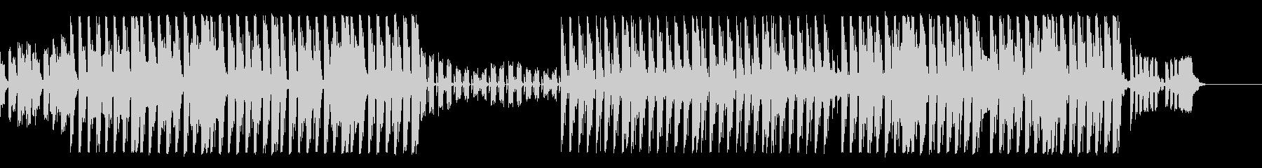【Ba抜】可愛らしい雰囲気のピアノEDMの未再生の波形