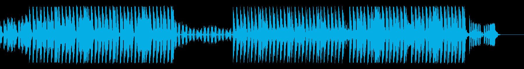 【Ba抜】可愛らしい雰囲気のピアノEDMの再生済みの波形