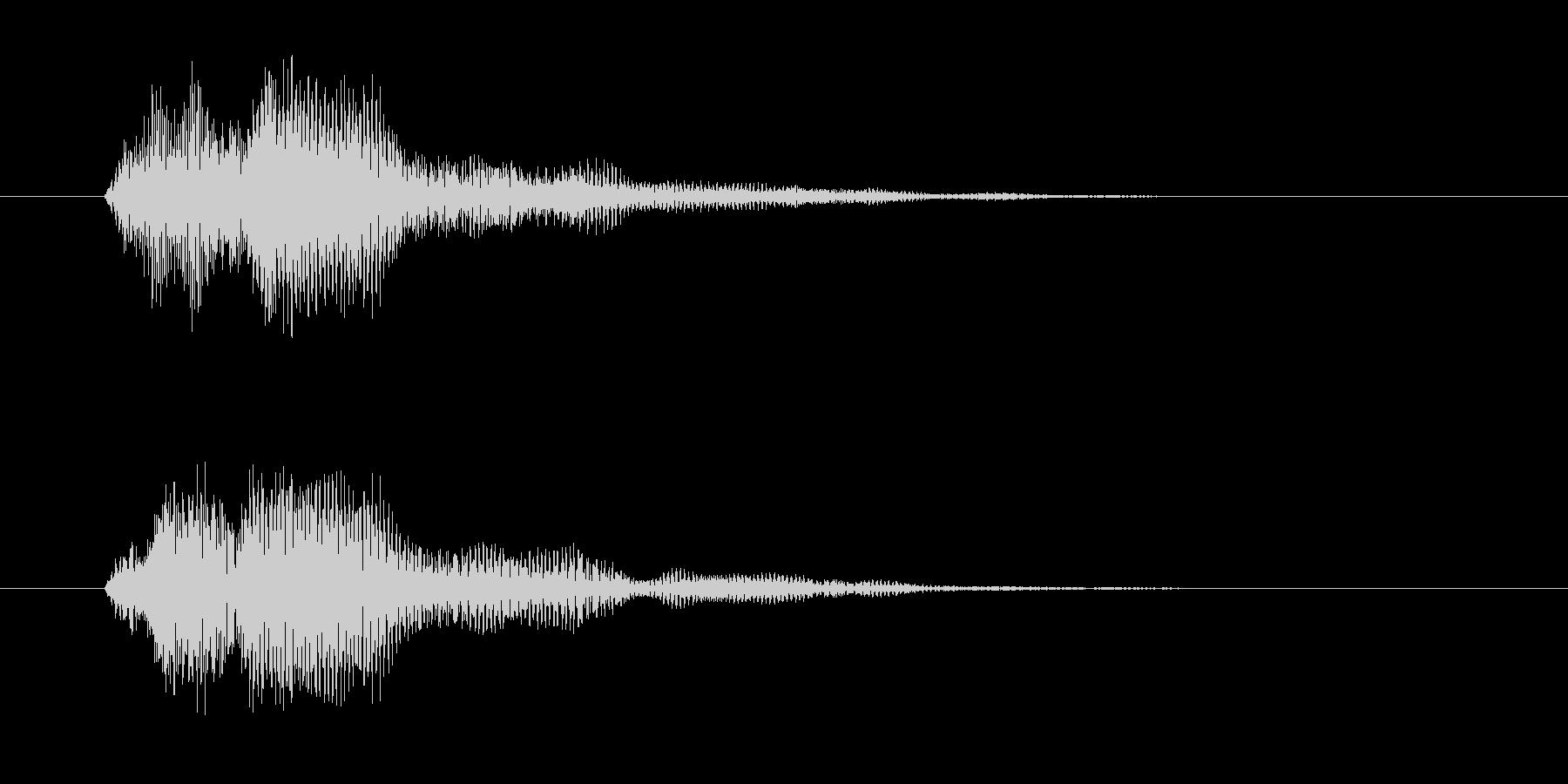 ファン(決定・魔法発動・光・システム音)の未再生の波形