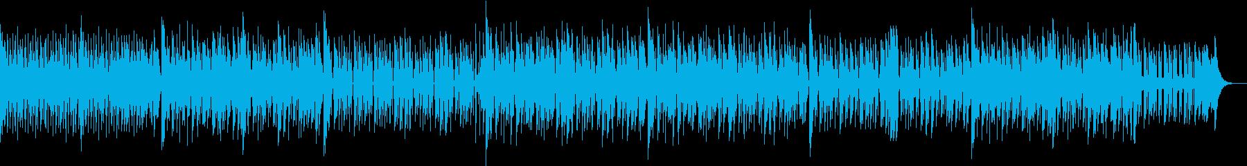 DJダンスミュージックの再生済みの波形