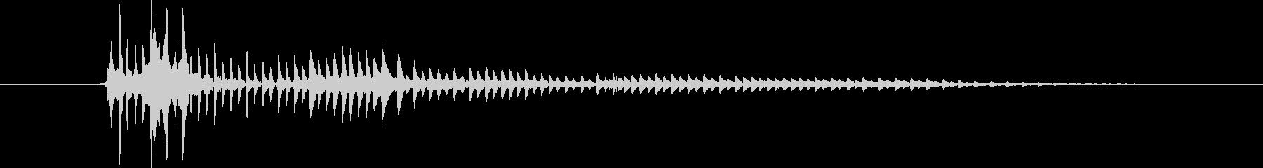 パーカッション 口ハープ02の未再生の波形