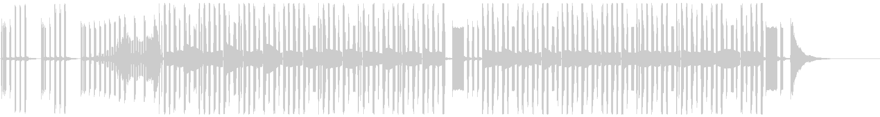 3分クッキングっぽい曲_最短Verの未再生の波形