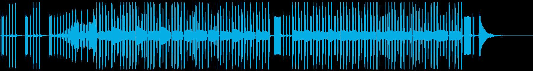 3分クッキングっぽい曲_最短Verの再生済みの波形