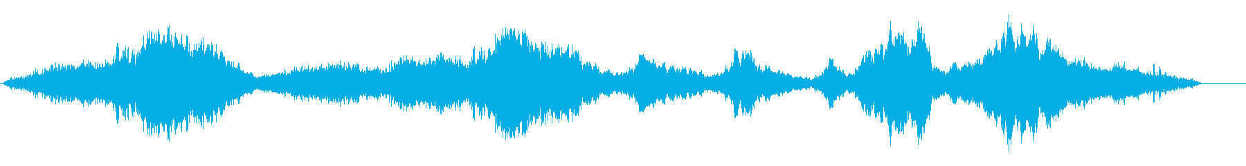 幻想的な癒し系のオーケストラサウンドの再生済みの波形