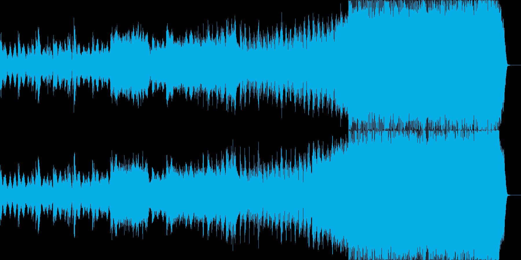 冷静になる。線形でわずかなリズム。...の再生済みの波形