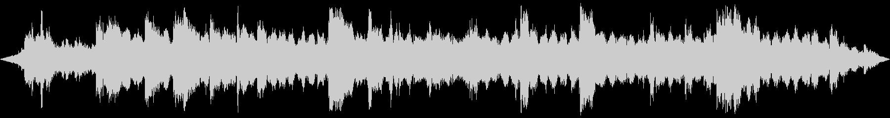 ヨガとマッサージ。ピアノのエアメロ...の未再生の波形
