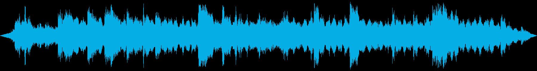 ヨガとマッサージ。ピアノのエアメロ...の再生済みの波形