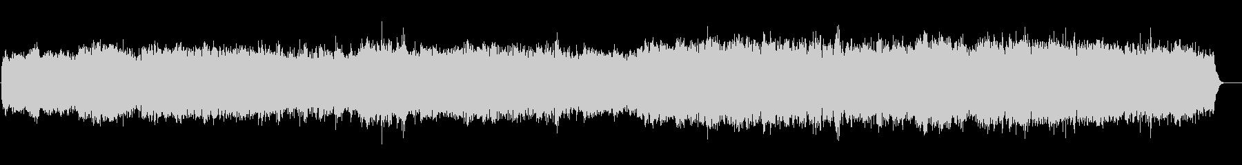 リラクセイション系 浮遊感サウンドの未再生の波形