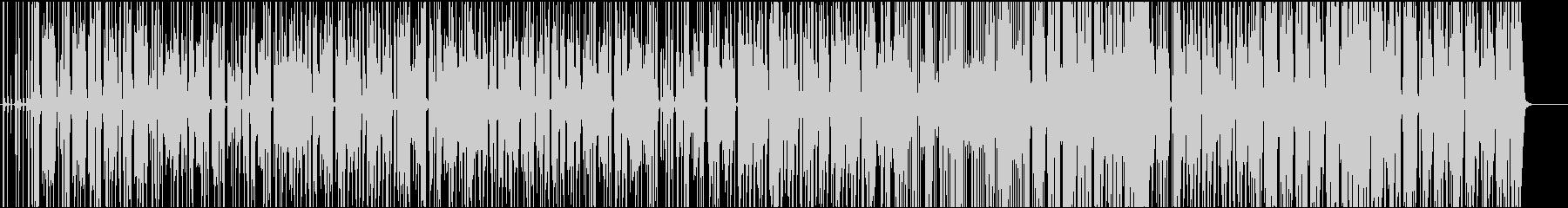オブジェの未再生の波形