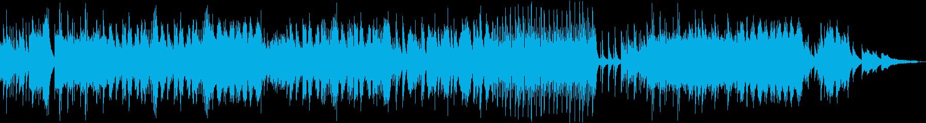 夏の癒し・ノスタルジックなピアノソロの再生済みの波形