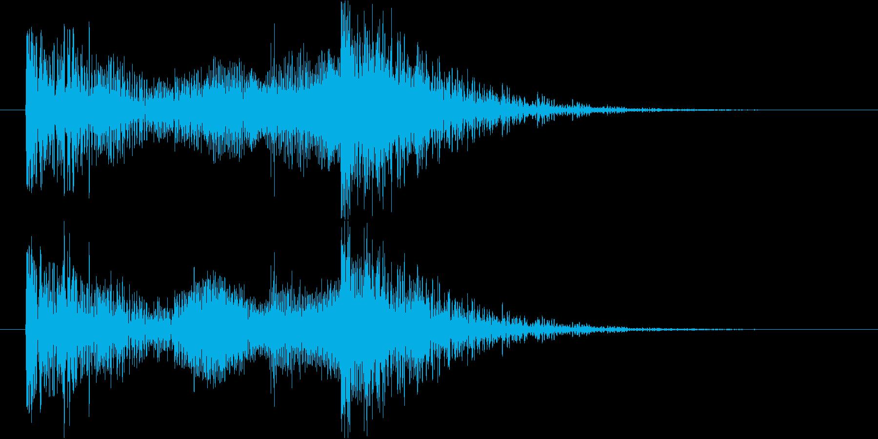 効果音SE的なジングル。重い音。の再生済みの波形