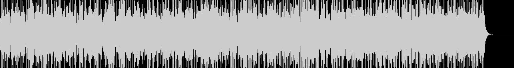 実用的なカリンバの無機質BGM2の未再生の波形