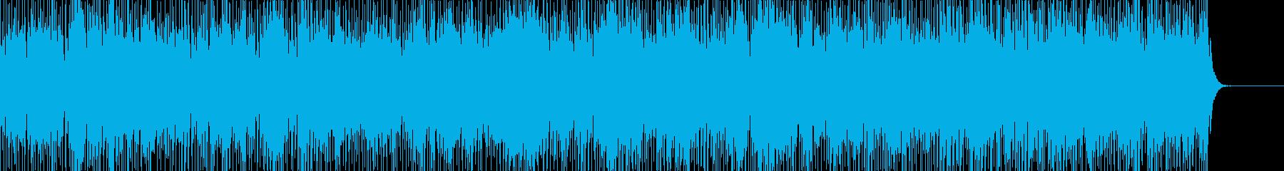 実用的なカリンバの無機質BGM2の再生済みの波形