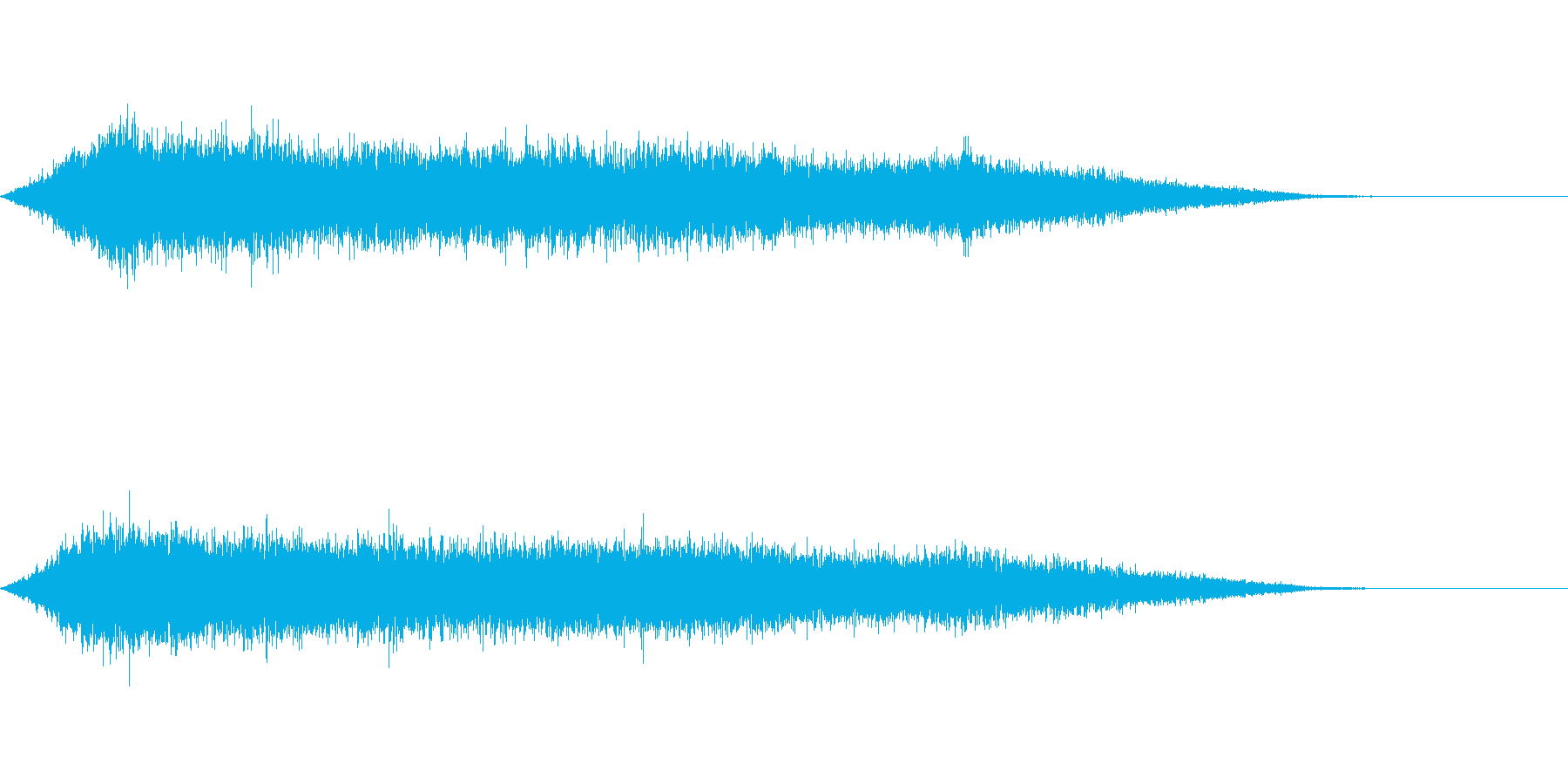 ワァーキャー!コンサートやライブ歓声19の再生済みの波形