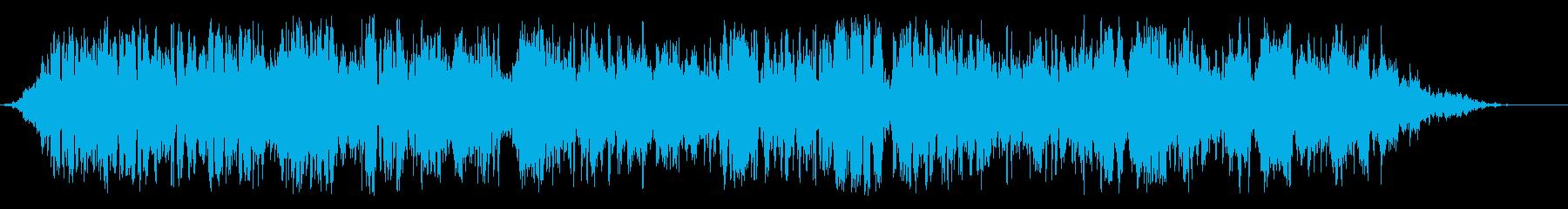 バーカップ料理の再生済みの波形