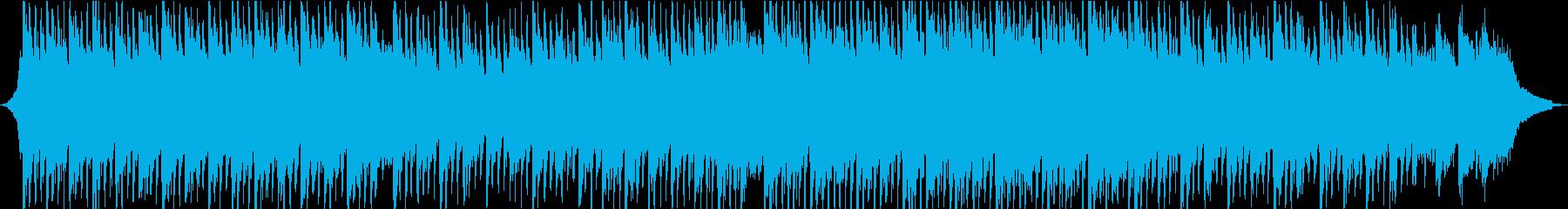 明るく前向き、ポジティブなストリングス②の再生済みの波形