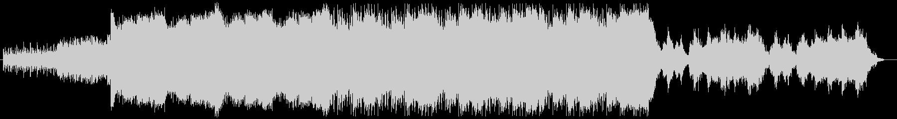 シンプルなピアノから始まり、ヒーリング的の未再生の波形