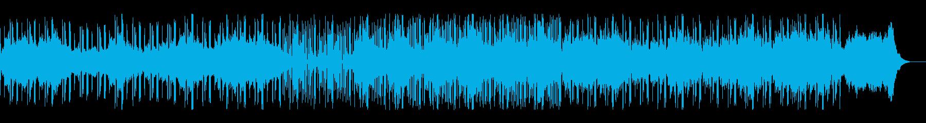 癒しと瞑想のシネマティックなチルサウンドの再生済みの波形