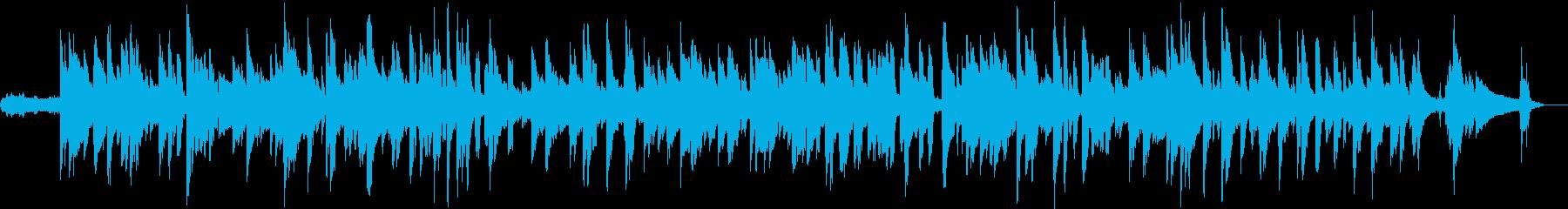 アコースティックギターの音が印象的です。の再生済みの波形