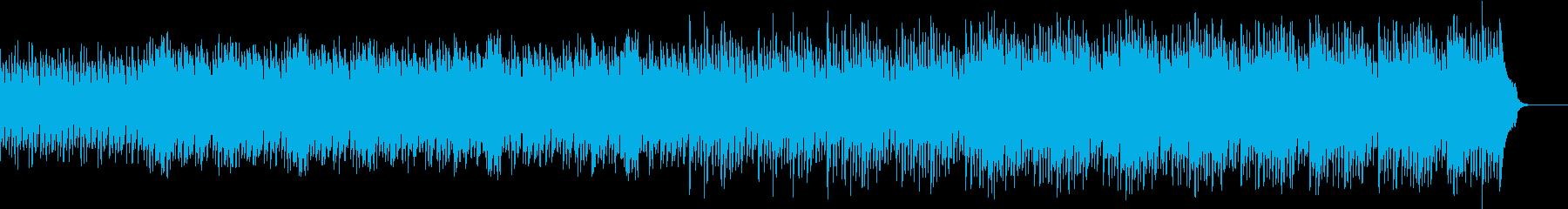 森のファンタジーを表現したオーケストラの再生済みの波形