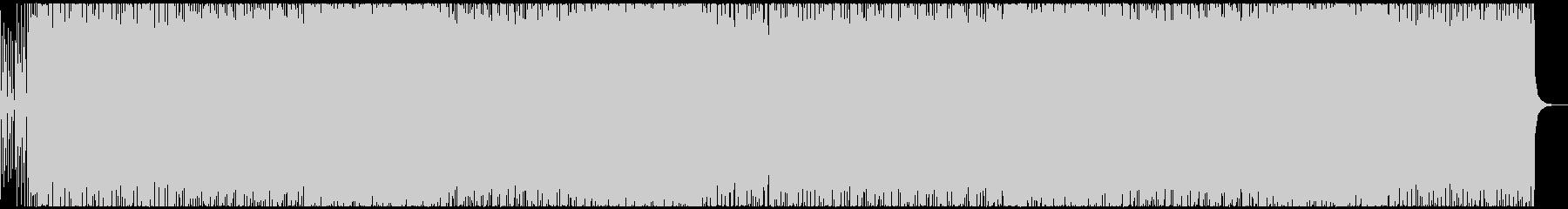 何かが始まる予感の音楽の未再生の波形
