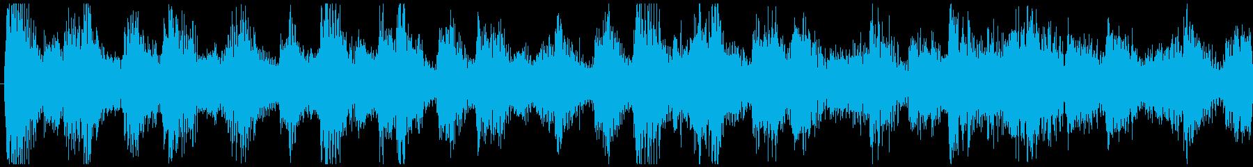 爽やかな朝に聞くBGM-ループ5の再生済みの波形