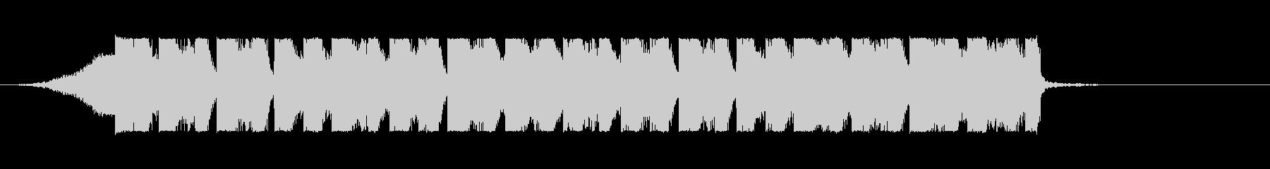 EDM パリピなイメージのジングルの未再生の波形