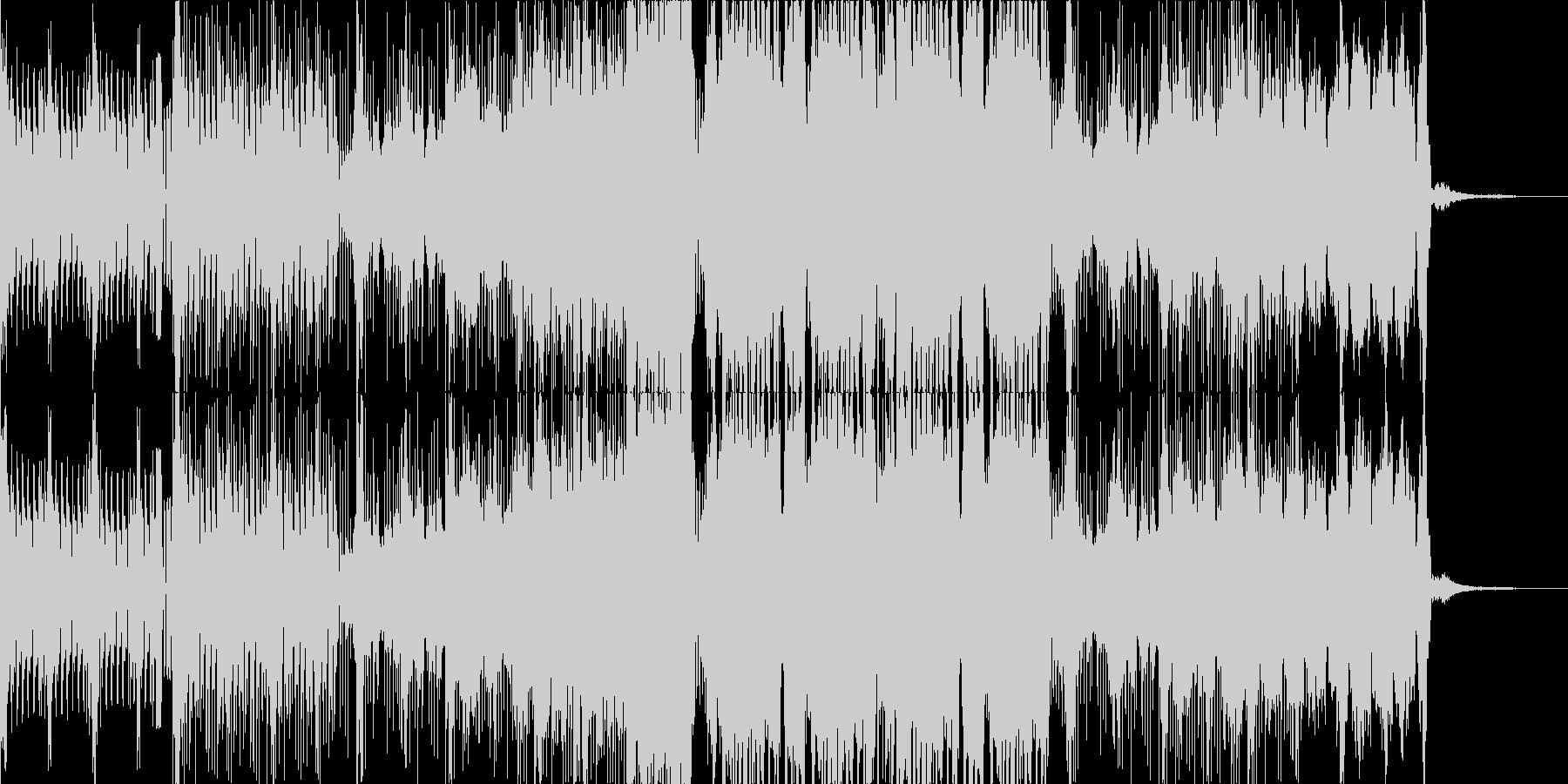 暗めなダンスミュージックの未再生の波形