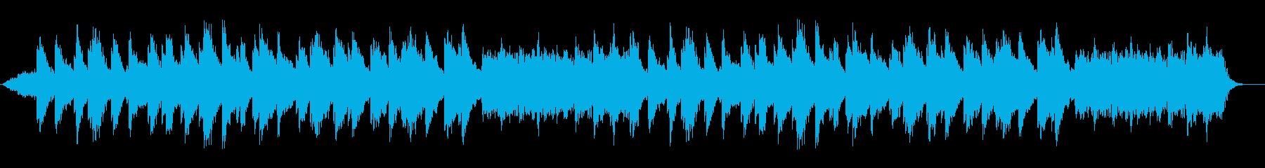 アンビエント 淡々 弦楽器 ハープの再生済みの波形