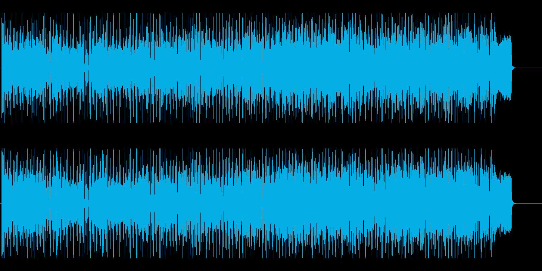 可愛くてうきうきする日常系ポップスの再生済みの波形