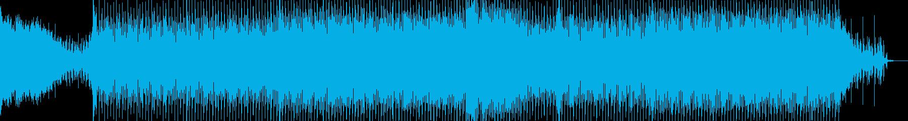 EDMポップで明るいクラブ系-120の再生済みの波形
