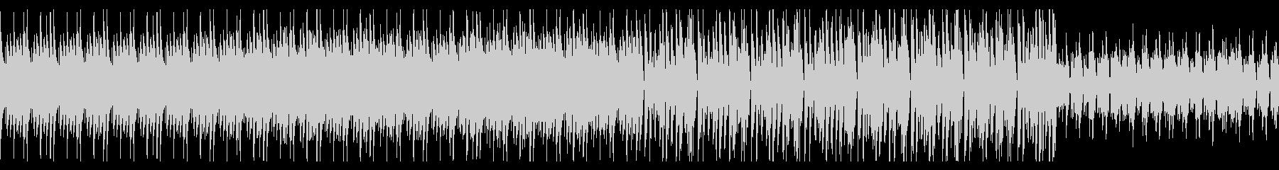電子音のテクスチャBGMの未再生の波形