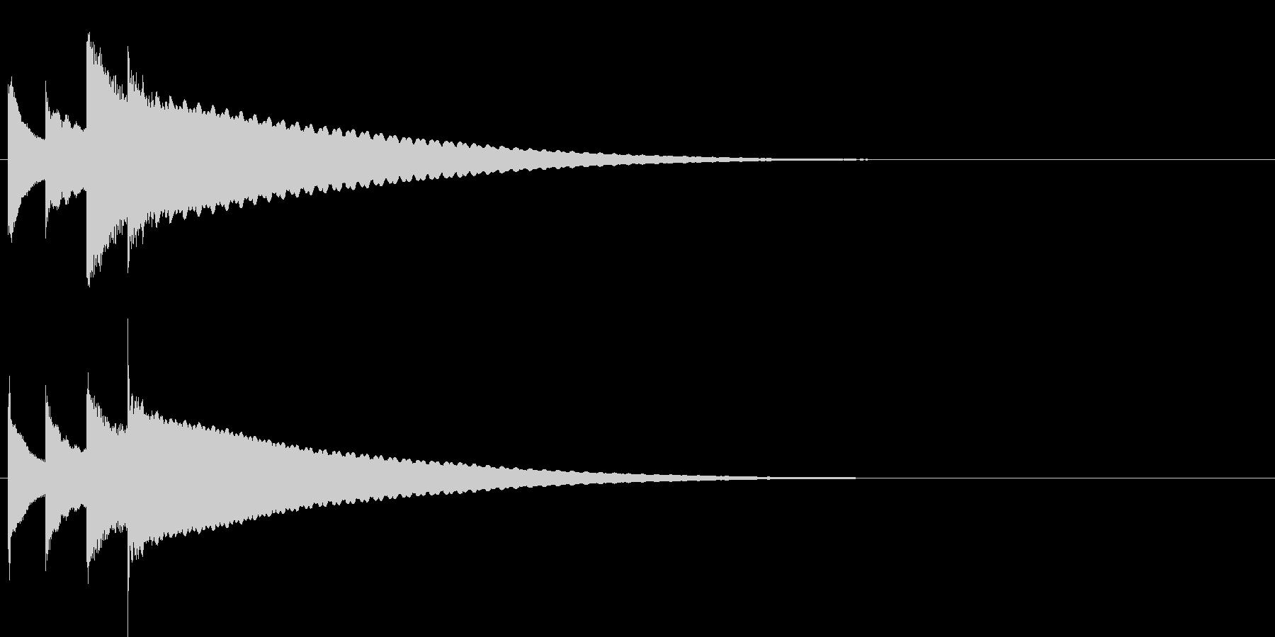汎用14 ピンポンパンポーン(上昇)の未再生の波形