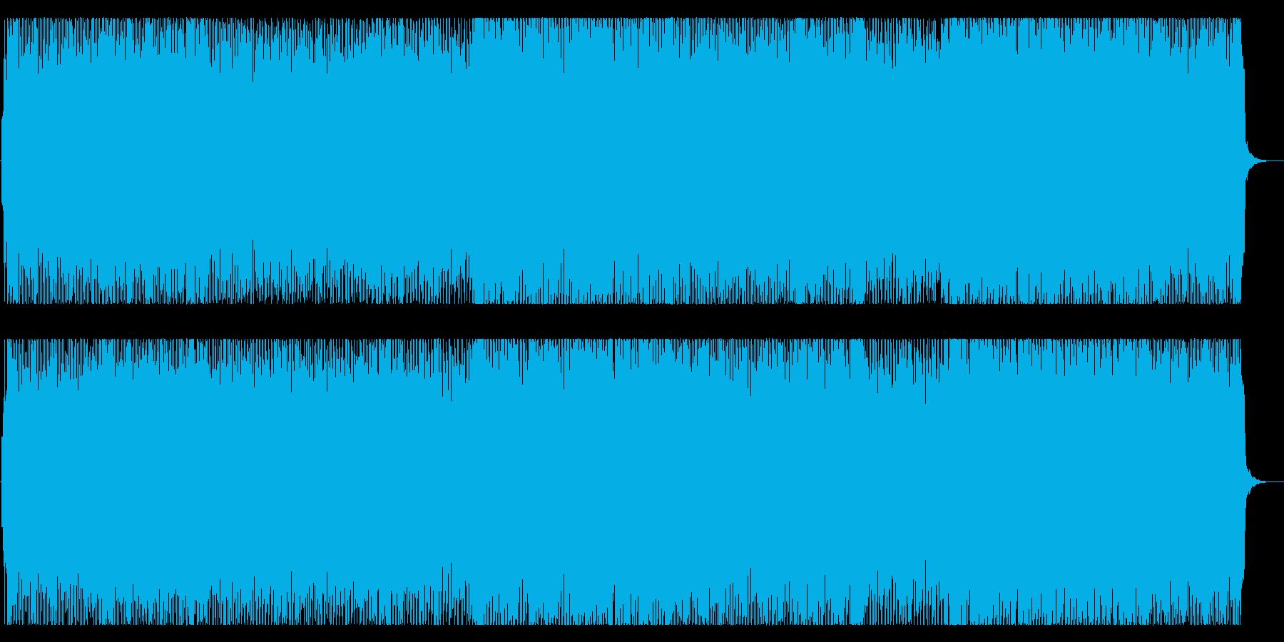 可愛らしいダンスポップ4 フル歌の再生済みの波形