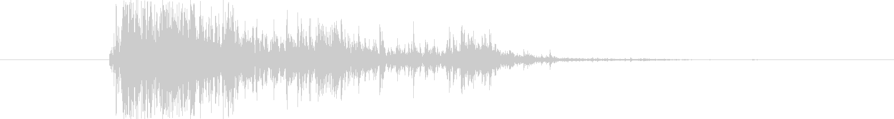 ブレーク ウッドスモール01の未再生の波形