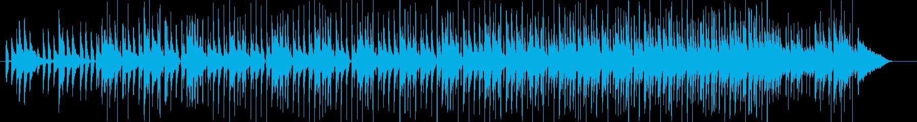 生録ウクレレ☆お洒落でトロピカルなビートの再生済みの波形