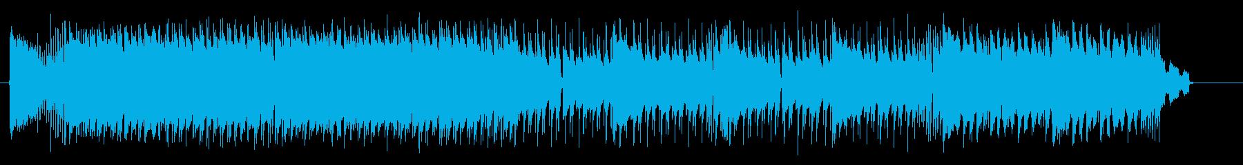 ダイナミックでクールなロックサウンドの再生済みの波形