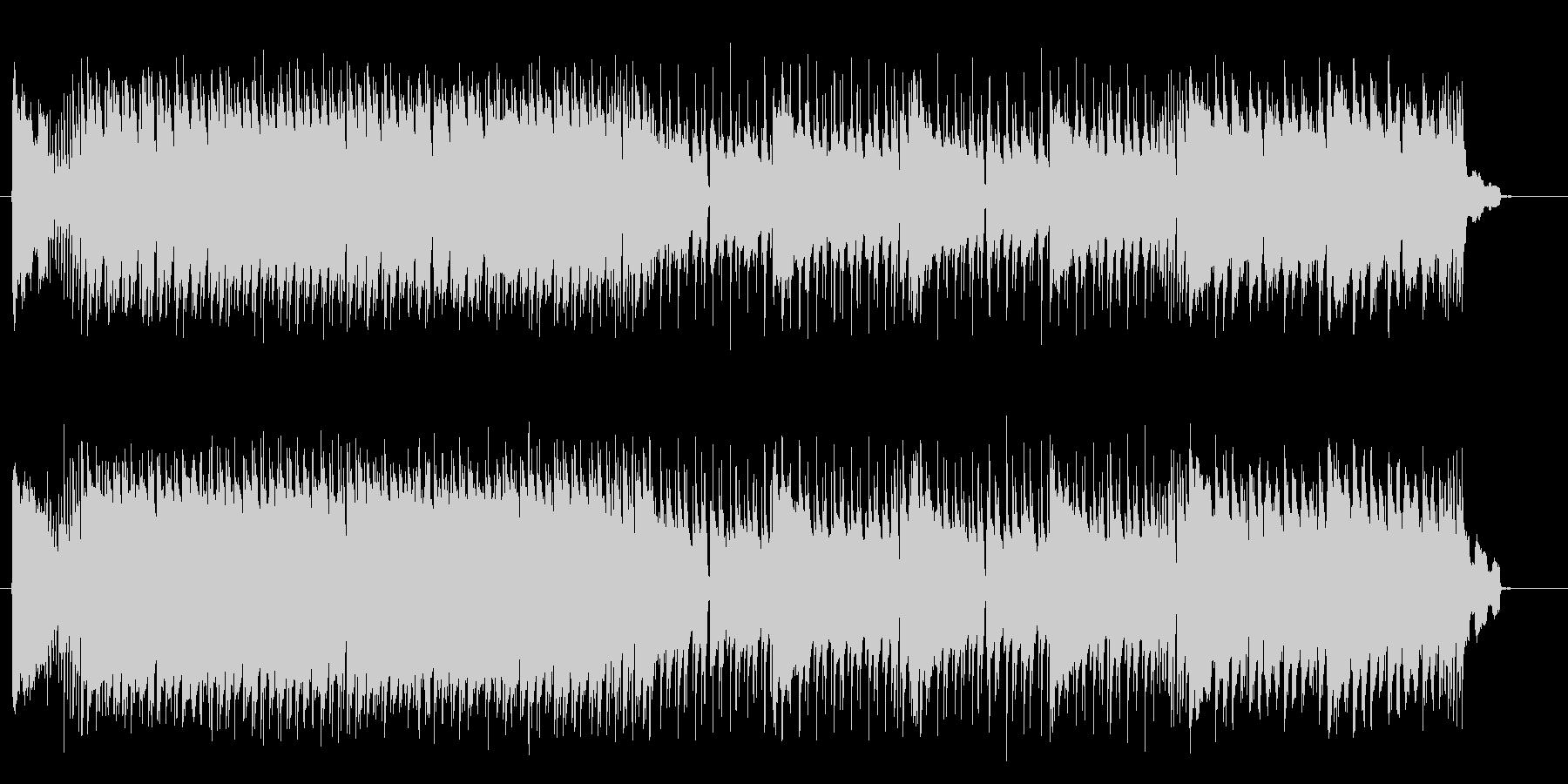 ダイナミックでクールなロックサウンドの未再生の波形