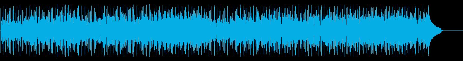 トロピカルムードを満喫する爽やかなポップの再生済みの波形