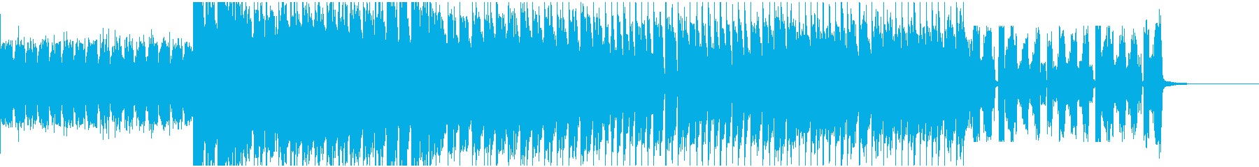 イベント等のオープニング曲の再生済みの波形