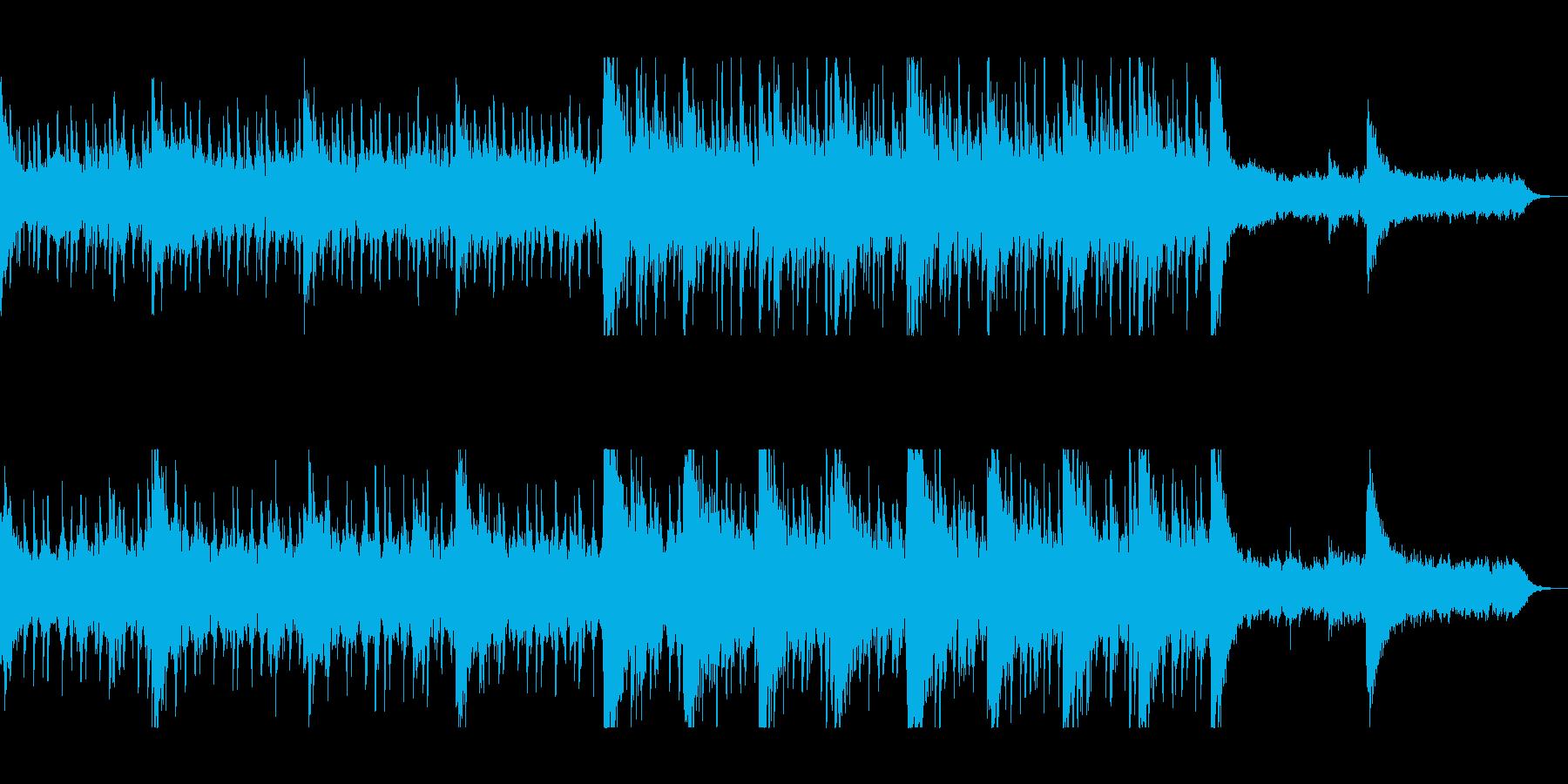 涼しげで神秘的なピアノサウンドの再生済みの波形